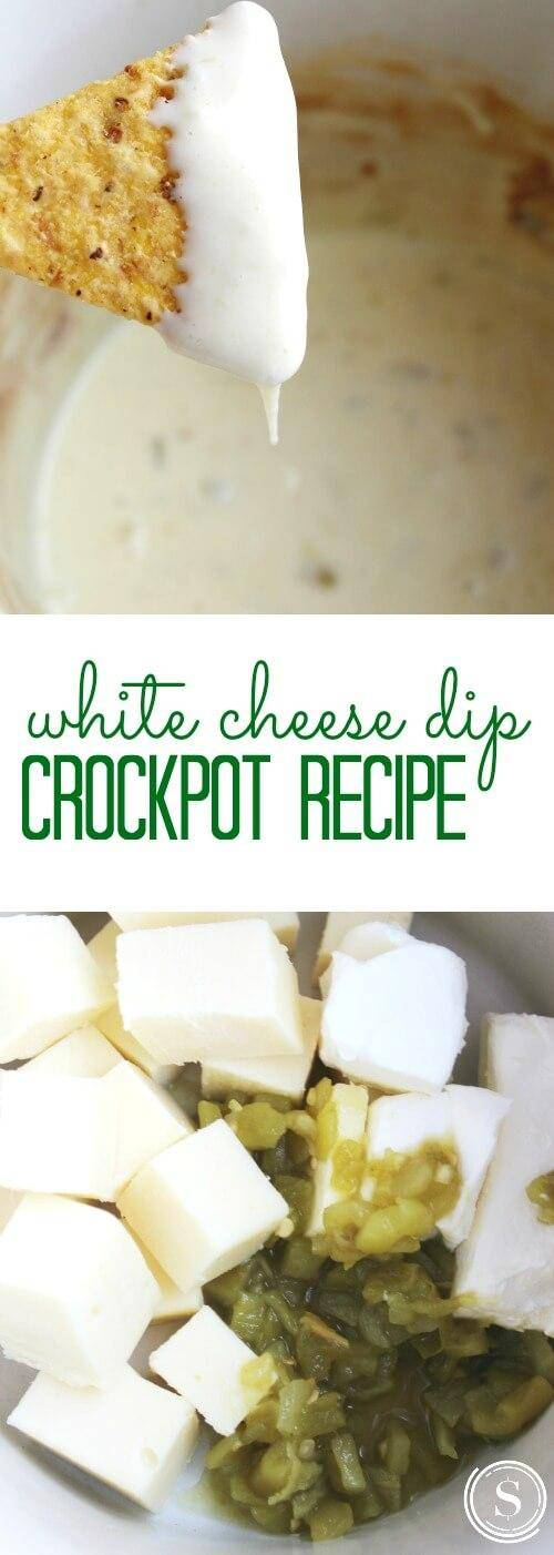 Crockpot White Cheese Dip Recipe