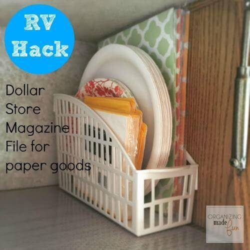 Organizing With Dollar Store Items: Dollar Store Organization Hacks