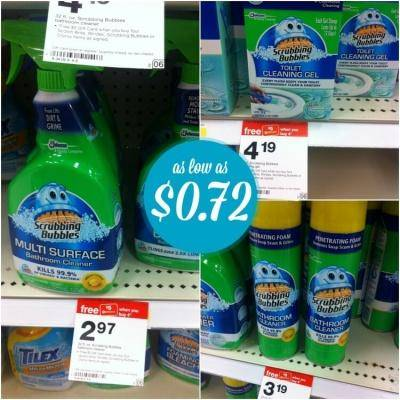 Scrubbing Bubbles Bathroom Cleaner Coupons