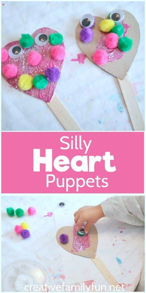 Valentine 39 s day crafts for preschoolers for Valentine crafts for preschool