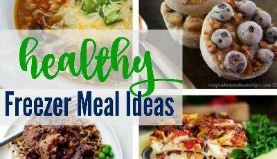 Healthy Freezer Meal Ideas