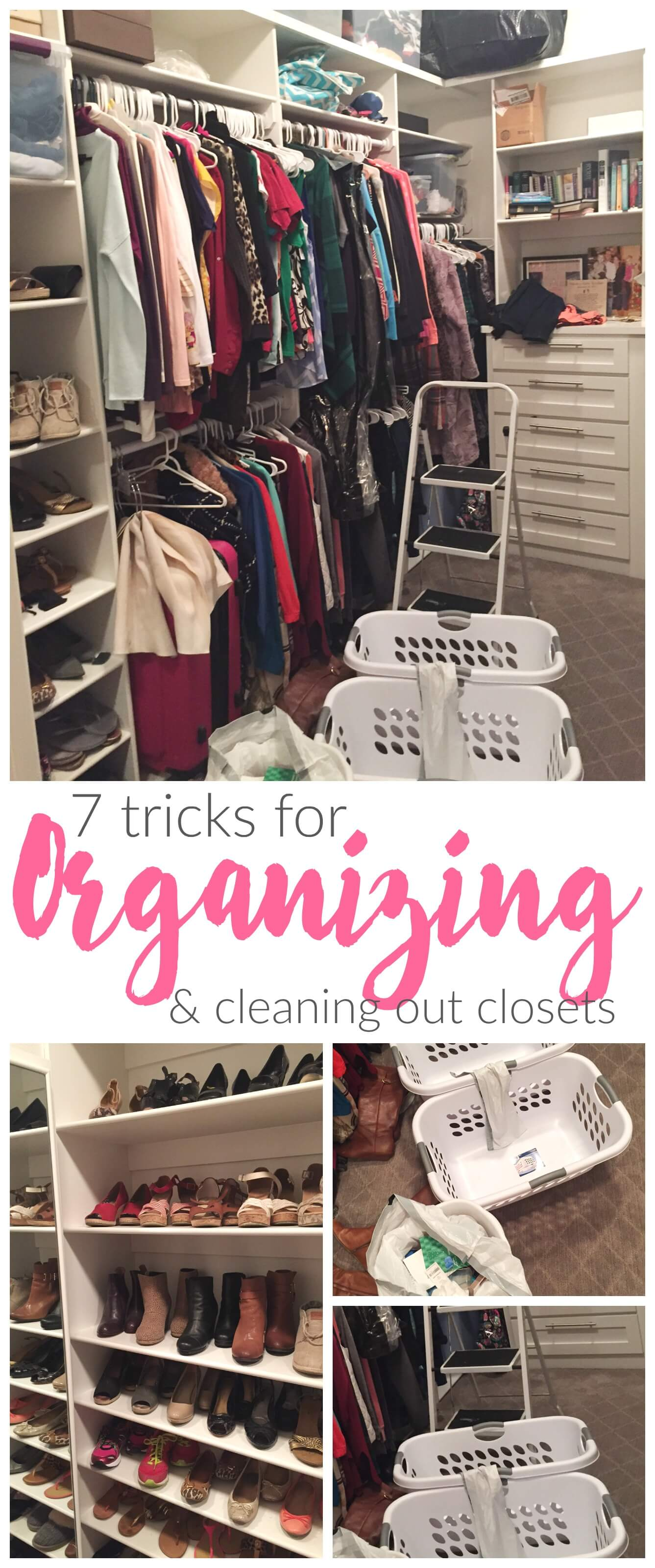 7 Tricks For Organizing And Cleaning Out Your Closet