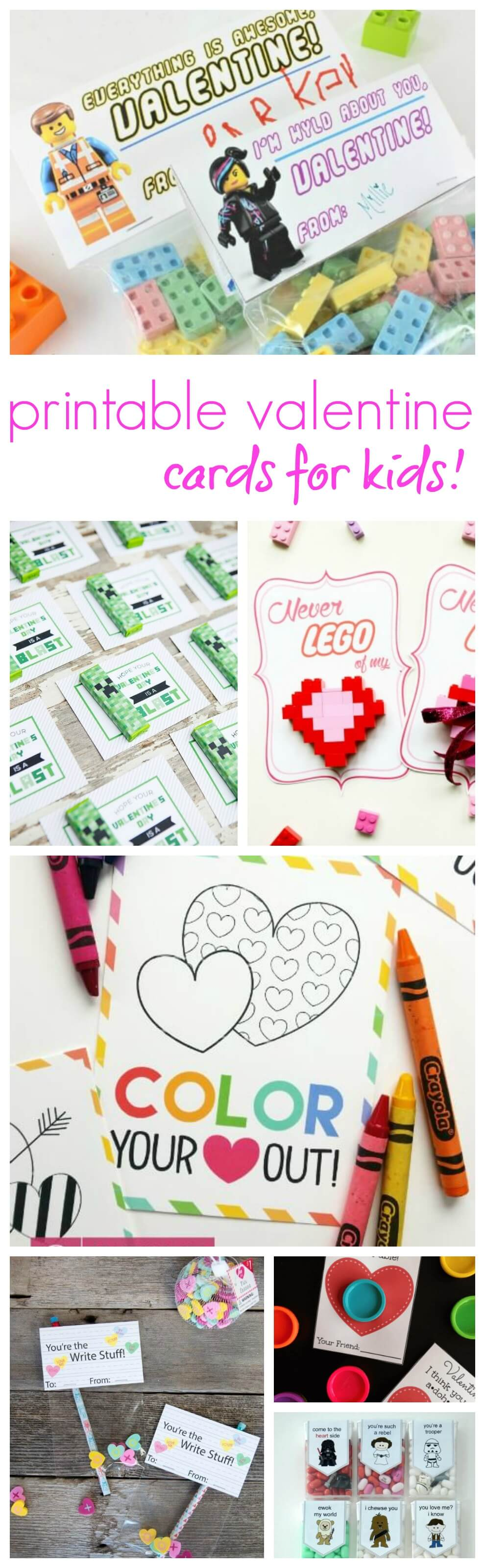 Free Printable Valentine\'s Cards For Kids