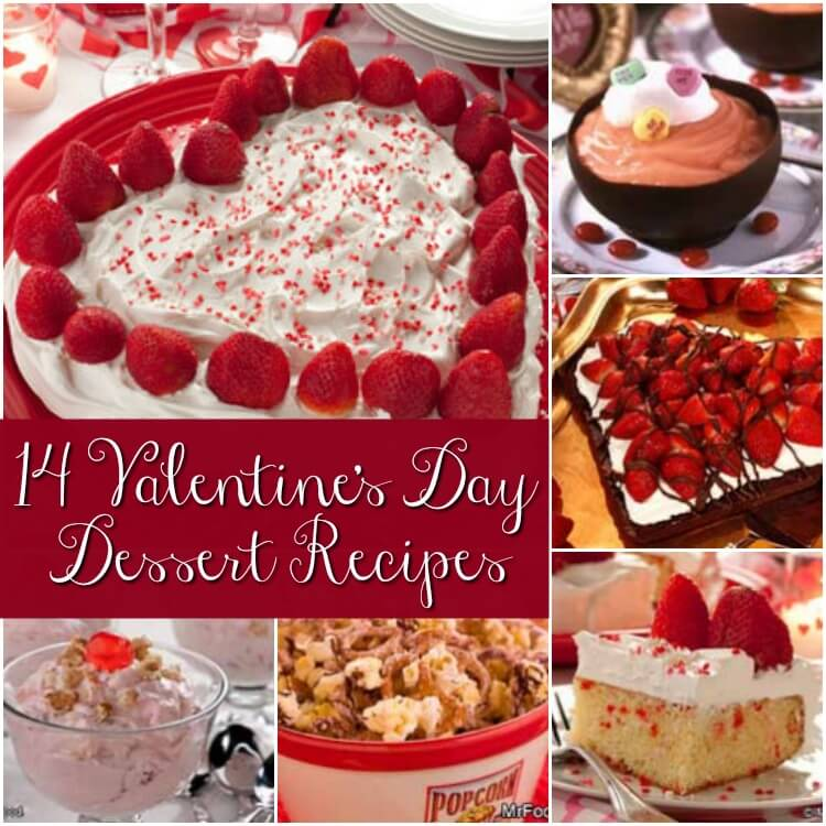 14 valentine 39 s day desserts recipes for Valentine s day desserts for a crowd