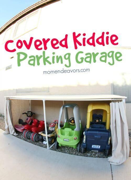 Covered-Kid-Car-Parking-Garage