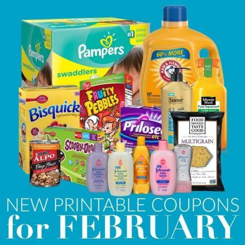 New Coupons to Print for February!