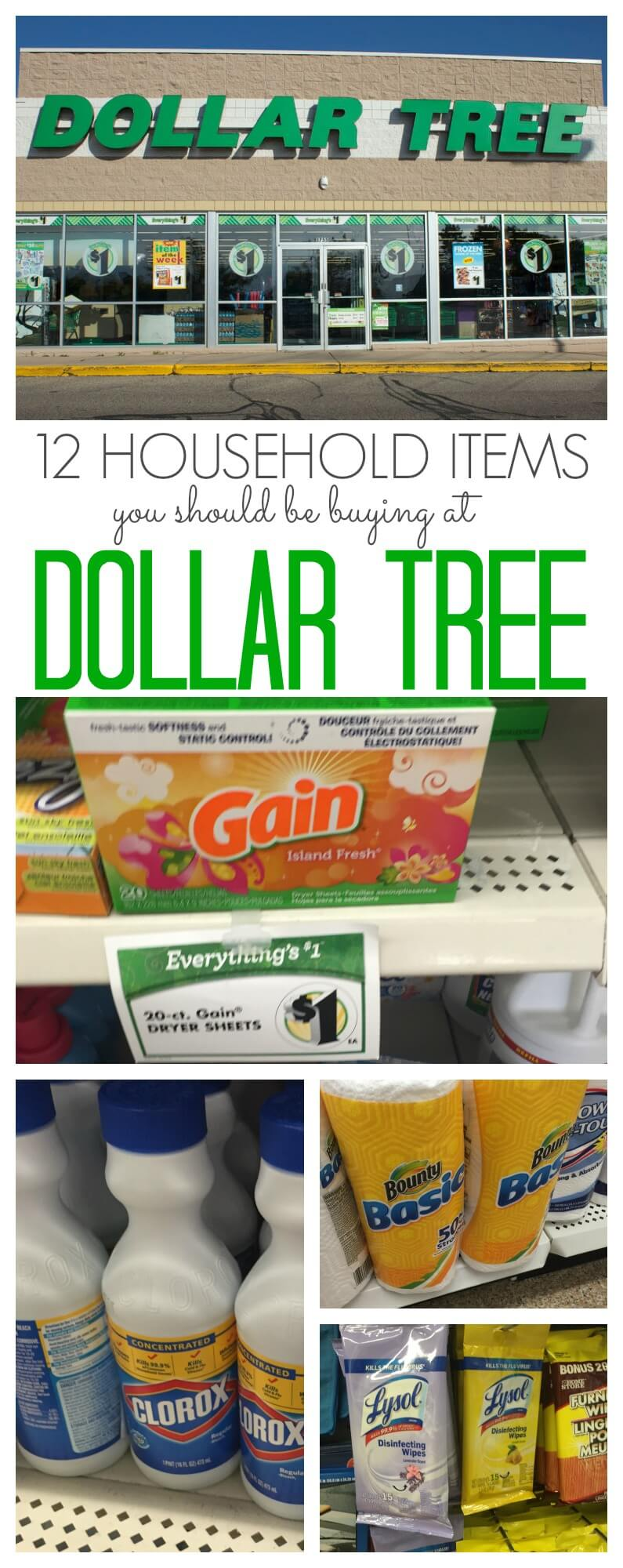 12 Household Items You Should Buy at Dollar Tree