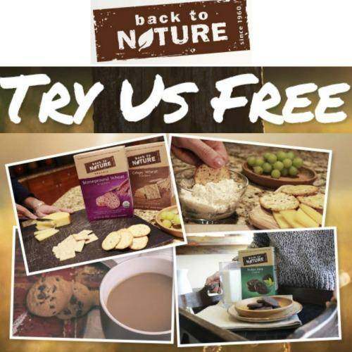 FREE Full Size Back to Nature Crackers or Cookies