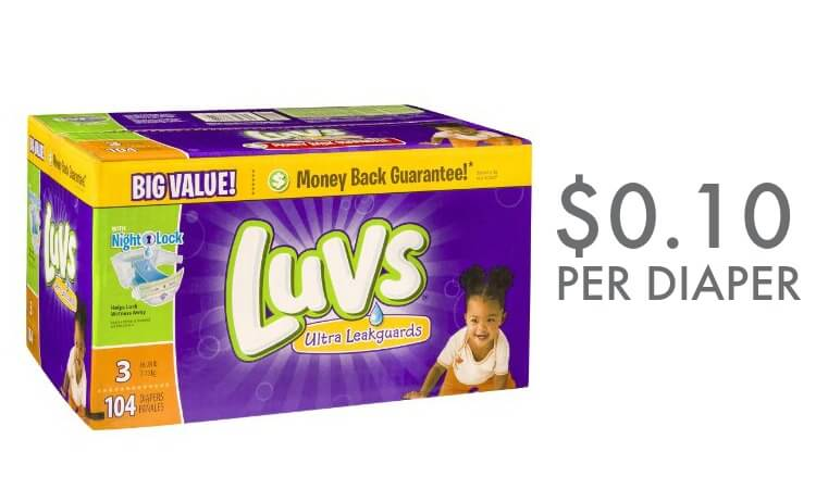 picture relating to Luvs Printable Coupons named Printable coupon codes for luvs diapers 2018 / Wcco eating out discounts