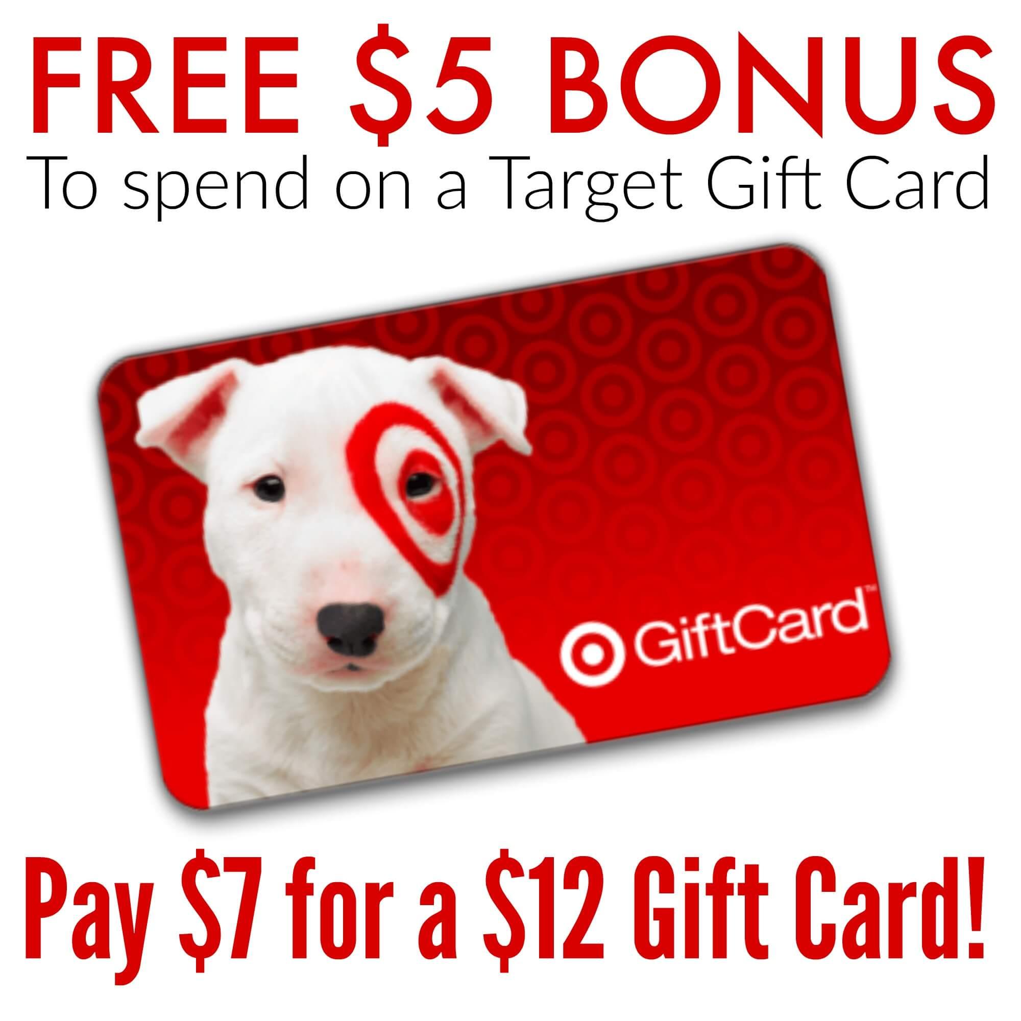 Target gift card deals