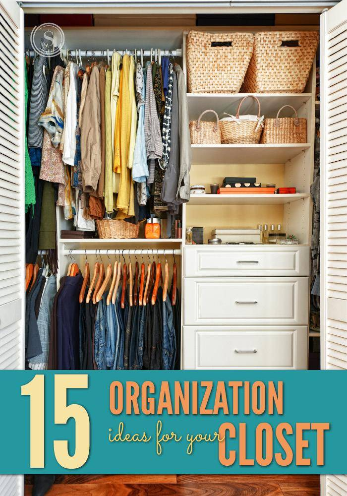 15 organization ideas for your closet - Keep your stuff organized with bedroom closet organizers ...