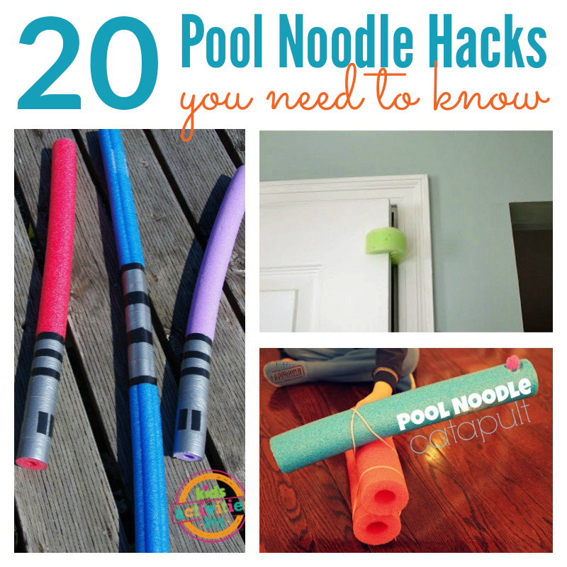 20 Pool Noodle Hacks You Need To Know Passion For Savings