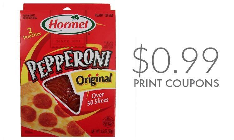Hormel Pepperoni Coupons