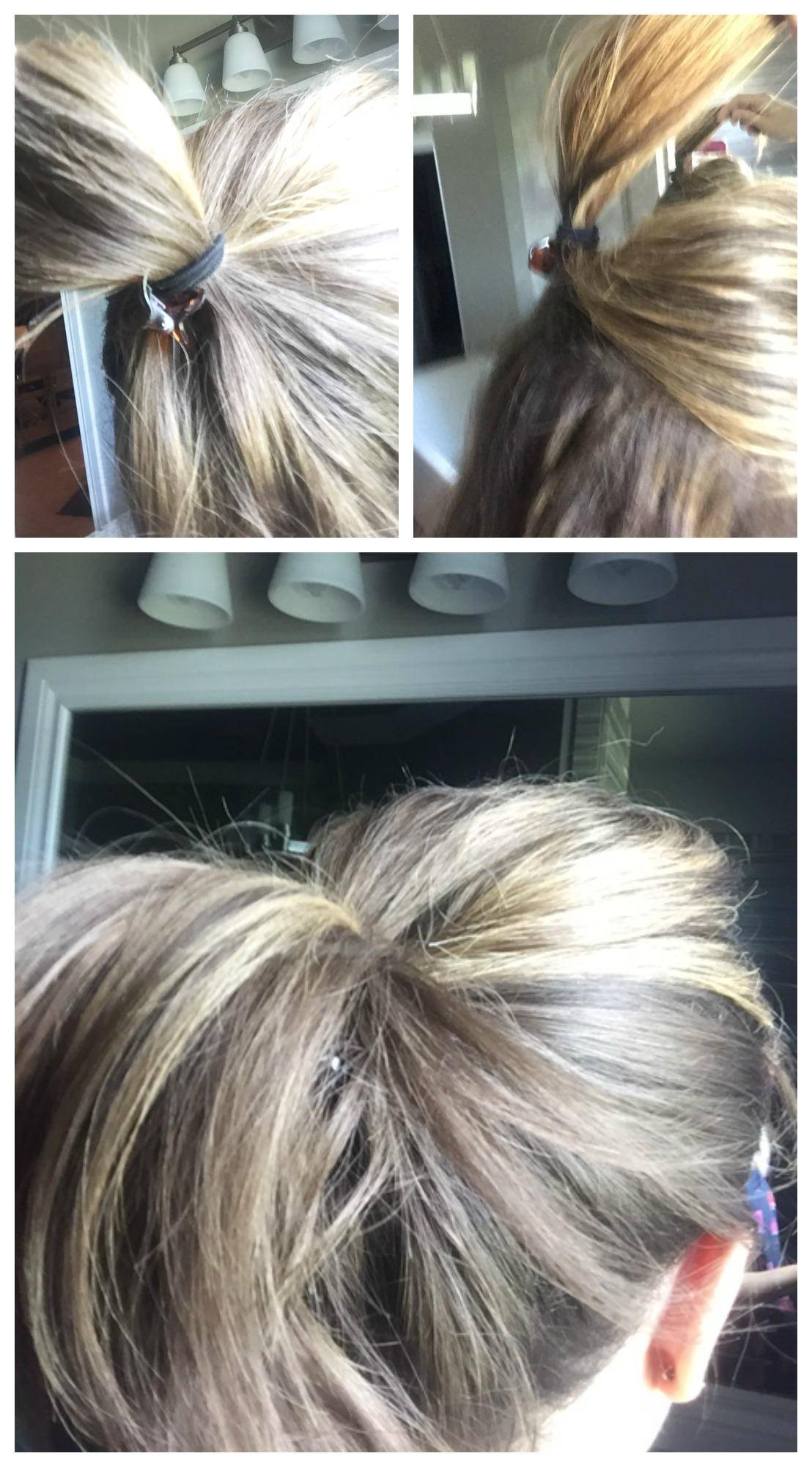 Hair Hacks Pony Tail Lift