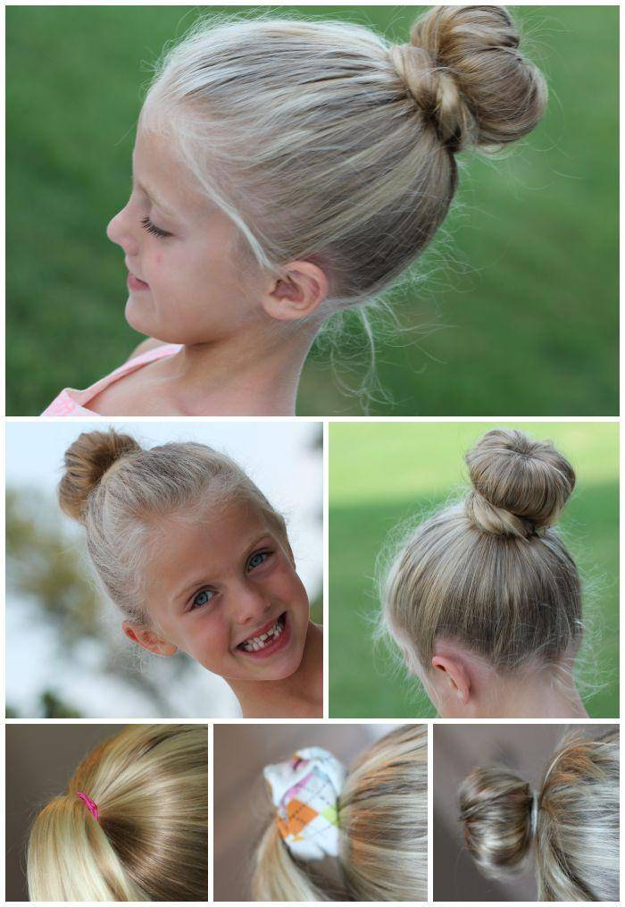Hair Hacks Sock Bun
