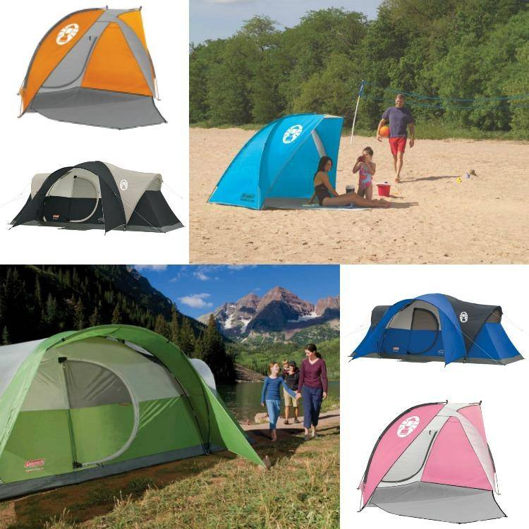 Coleman Tents & Beach Shades On Sale