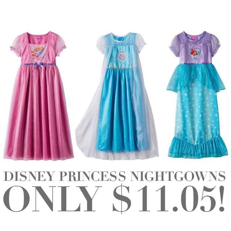 Disney Princess Dress Up Nightgowns Only $11.05!