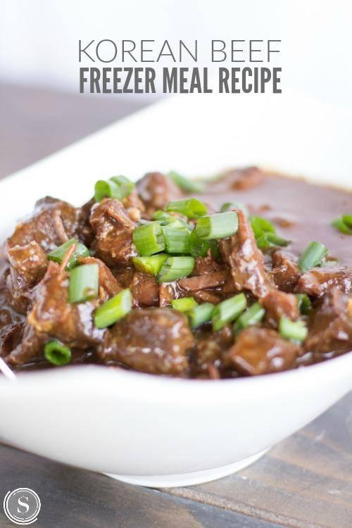 Korean Beef Freezer Meal Recipe