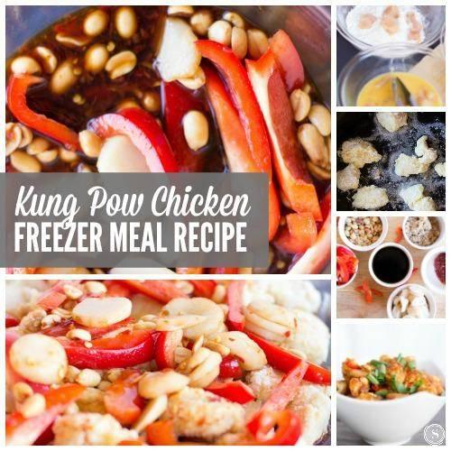 Kung Pow Chicken Freezer Meal Recipe