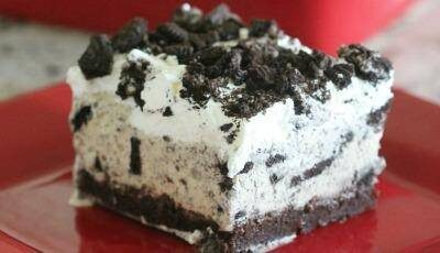 Oreo Ice Cream Brownies Recipe!