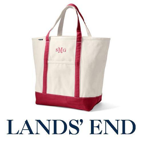 Lands' End Canvas Large Totes