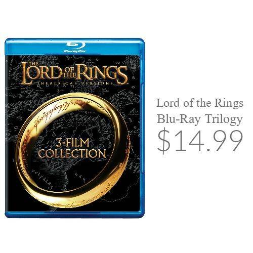Lord of the Rings Blu-Ray Trilogy
