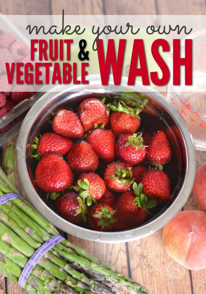 how to properly clean fruits and vegetables