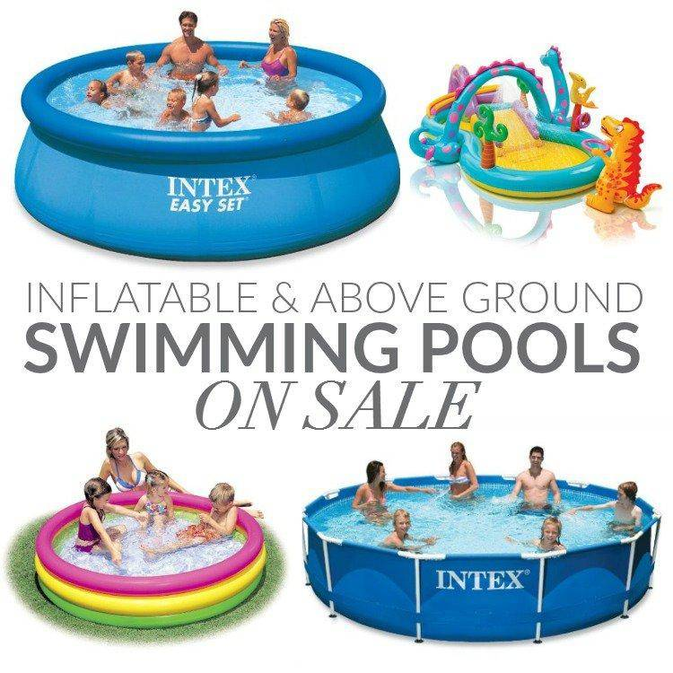 Intex Family Inflatable Pool On Sale For
