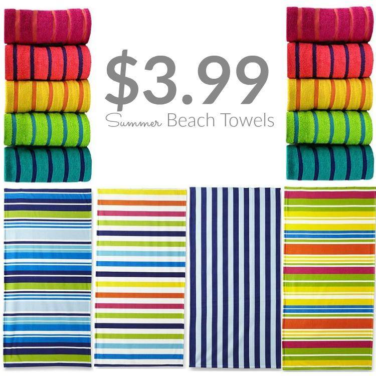 Essential Home Beach Towels Only At KMart Passion For Savings