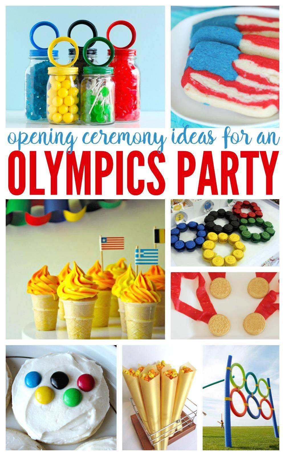 Opening Ceremony Olympic Party Ideas