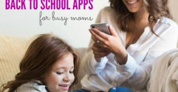 10 Back to School Apps for Moms Wanting to Get Organized