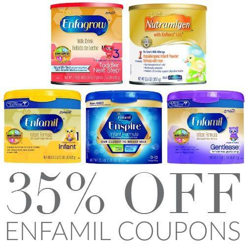 35 off Enfamil Online Coupons