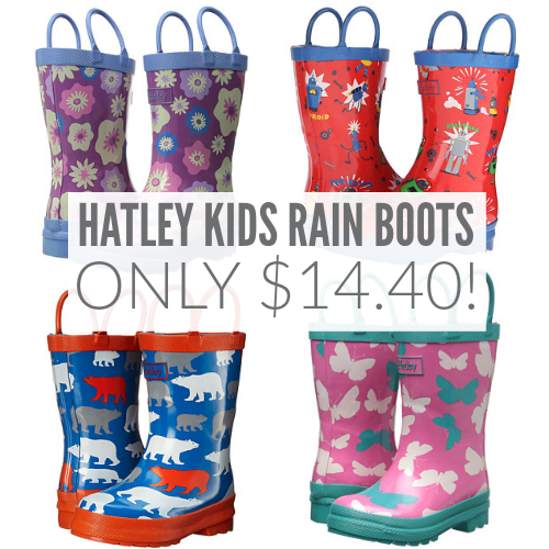 All Items On Sale (14) Buy One Get One (91) Companion (+) Free Shipping (+) All Items On Sale (14) Kamik Kids' Cherish Rain Boot. Sold by PairMySole. $ $ Frye Men's Alaska Pull-On Rain Boot. Shop Rain Boots For The Family. Women's. Men's. Girls. Boys. Toddler Girls. Toddler Boys. + results found for.