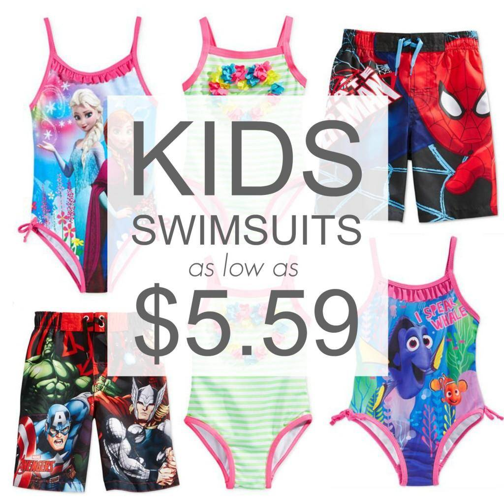 Kids Swimsuits 559