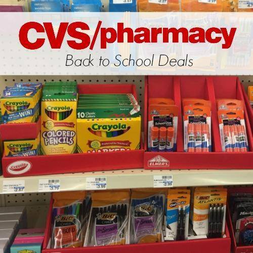 The CVS Back to School Deals 2018 are a great way to save on School Supplies.