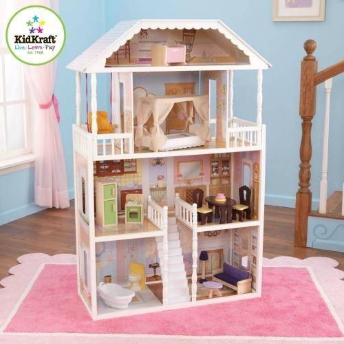 Kidkraft Savannah Dollhouse With Furniture Sale Passion For Savings