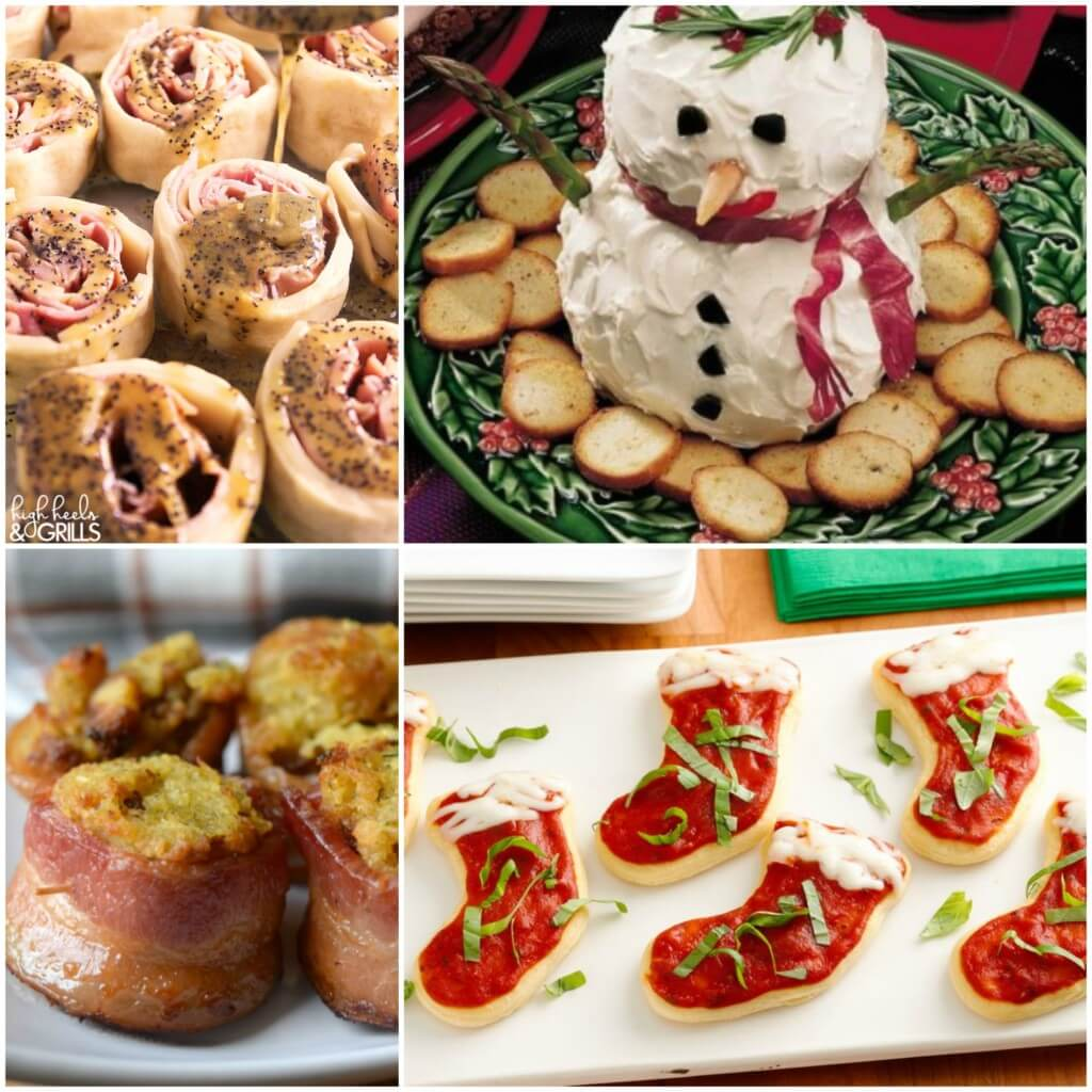 20 Simple Christmas Party Appetizers
