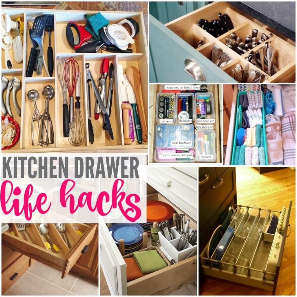 12 Genius Ways To Organize Your Kitchen Drawers