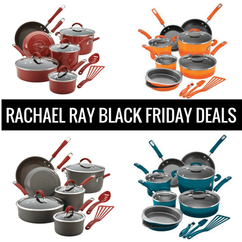 rachael ray cookware black friday deals cyber monday sales 2016. Black Bedroom Furniture Sets. Home Design Ideas