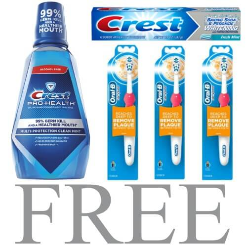 free-crest-and-oral-b-products