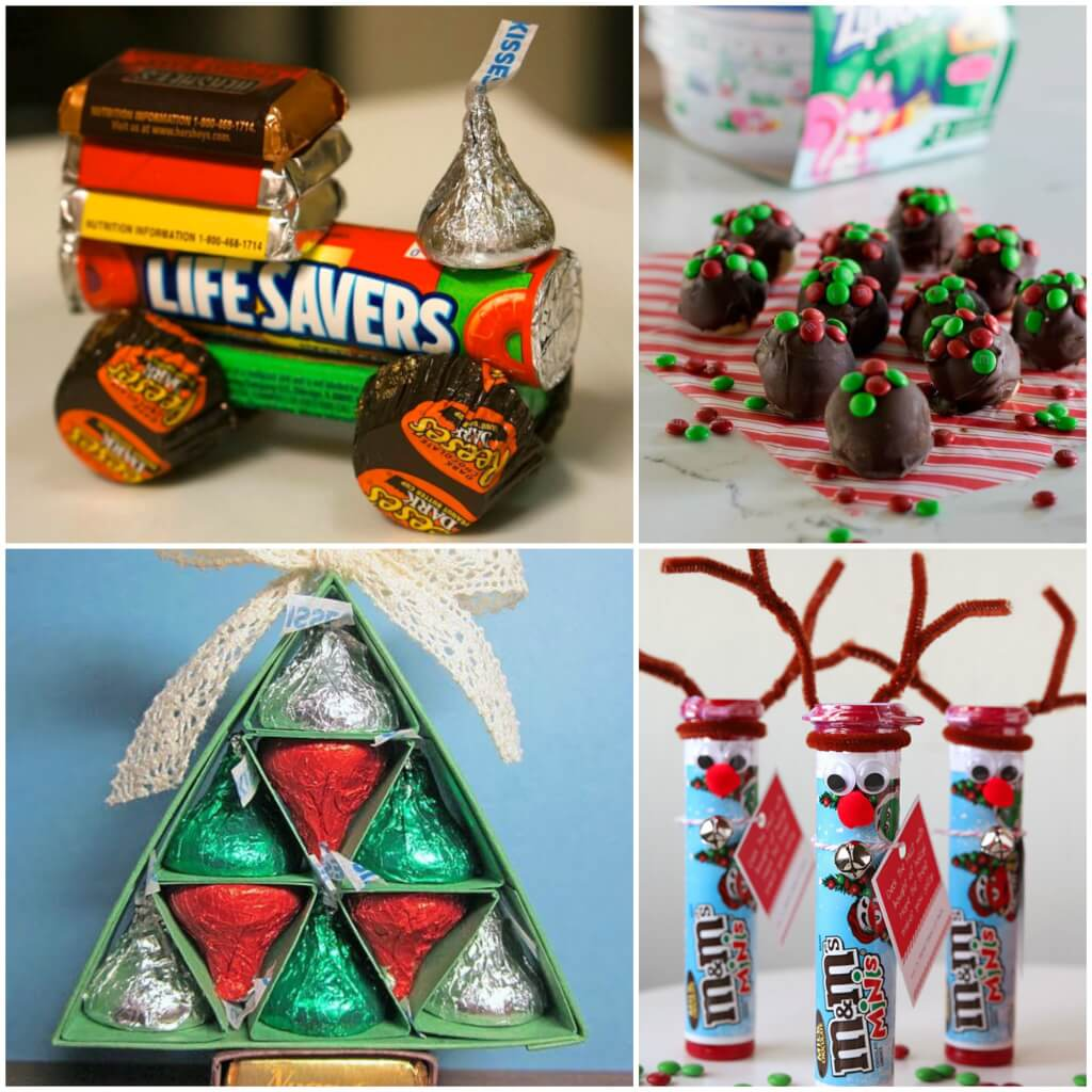 Christmas Candy Gifts.20 Amazing Gifts Made From Christmas Candy