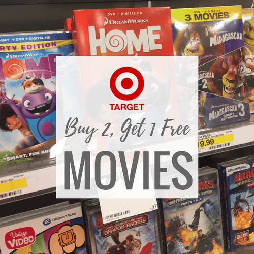 buy 2  get 1 free movies at target  includes disney movies