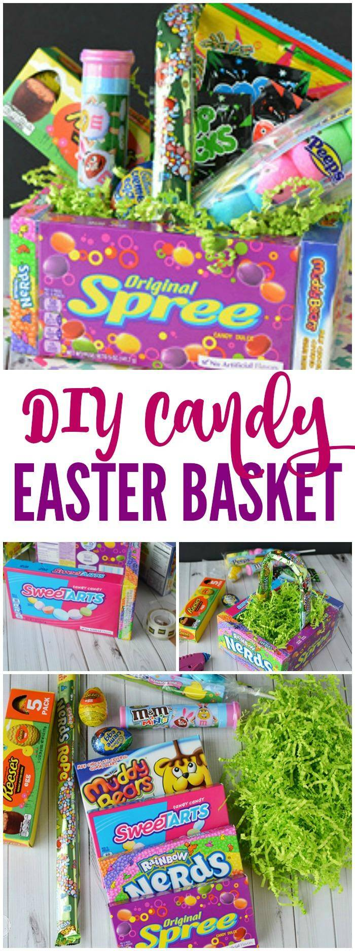 DIY Candy Easter Basket