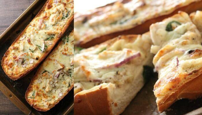 French bread chicken alfredo pizza recipe solutioingenieria Image collections