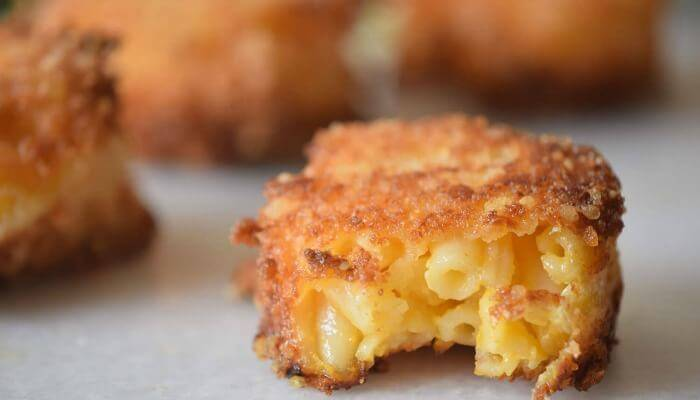 Fried Mac and Cheese Bites Recipe Featured