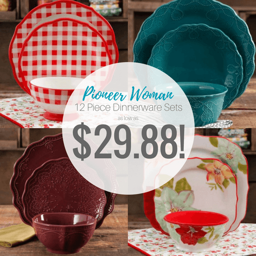The Pioneer Woman 12-Piece Dinnerware Sets