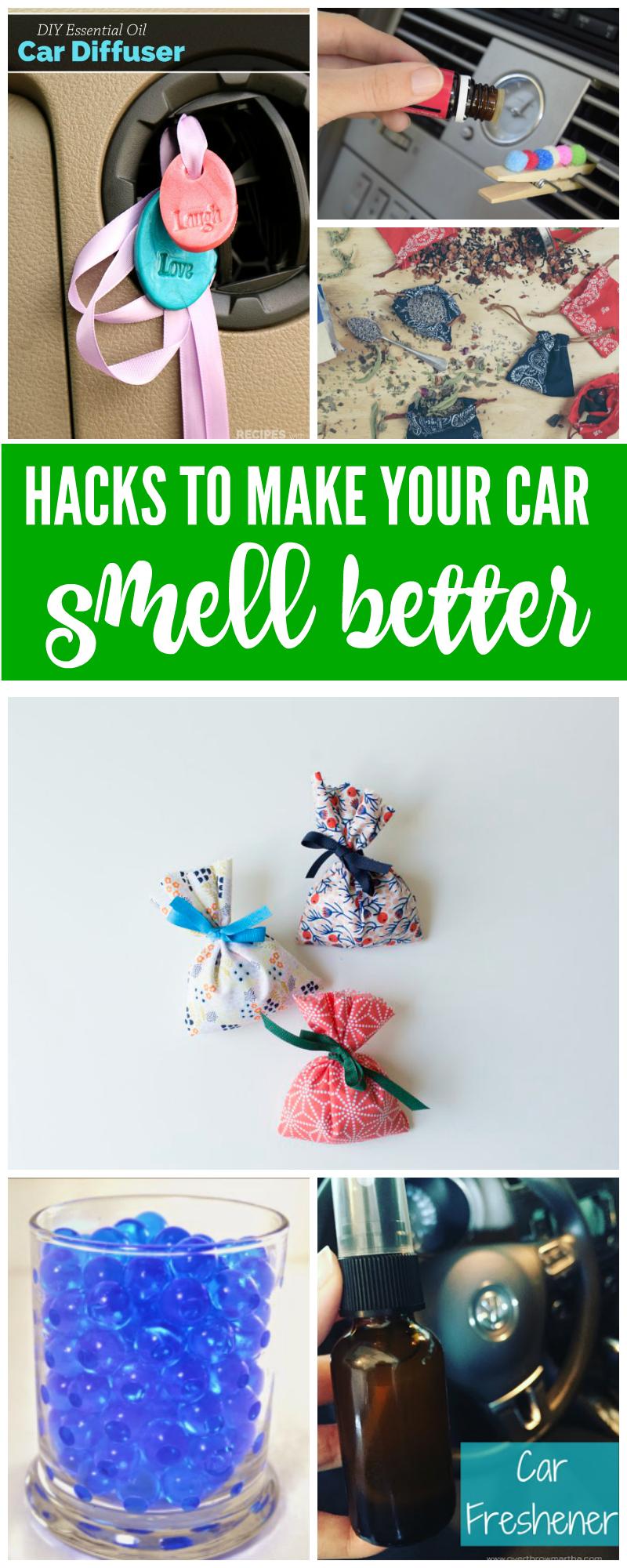 15 ways to make your car smell better. Black Bedroom Furniture Sets. Home Design Ideas