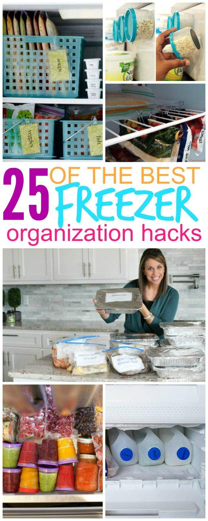 25 Ways to Organize Your Freezer That Will Save Your Sanity