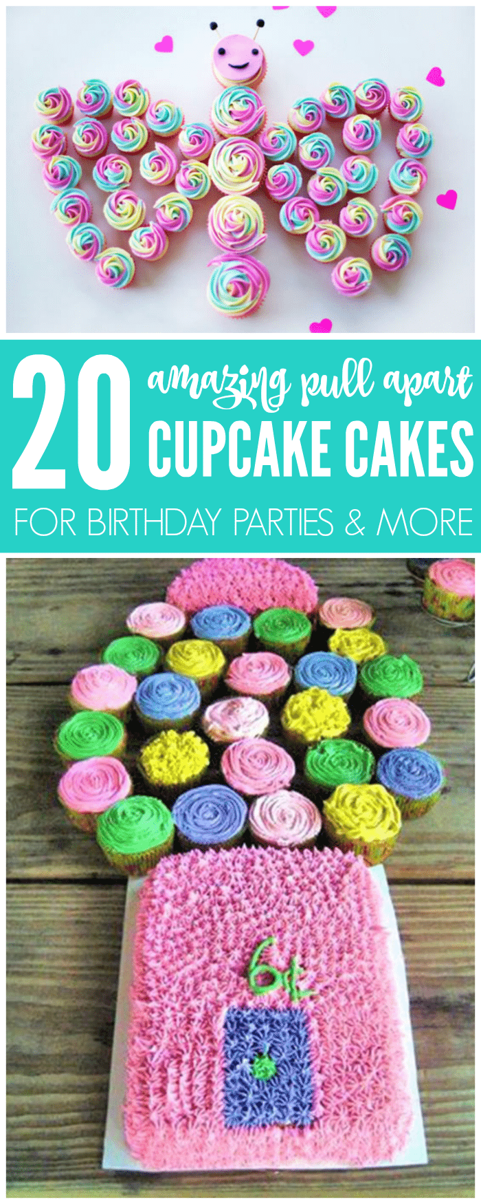 I Am LOVING These Cupcake Cake Ideas That You Can Try Today There Are 20