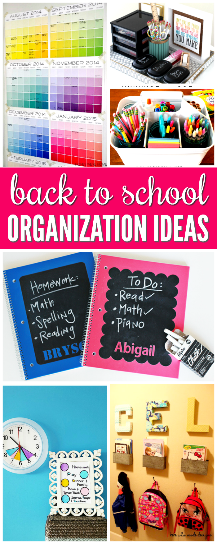 25 smart back to school organization ideas you need - Back to school organization ...